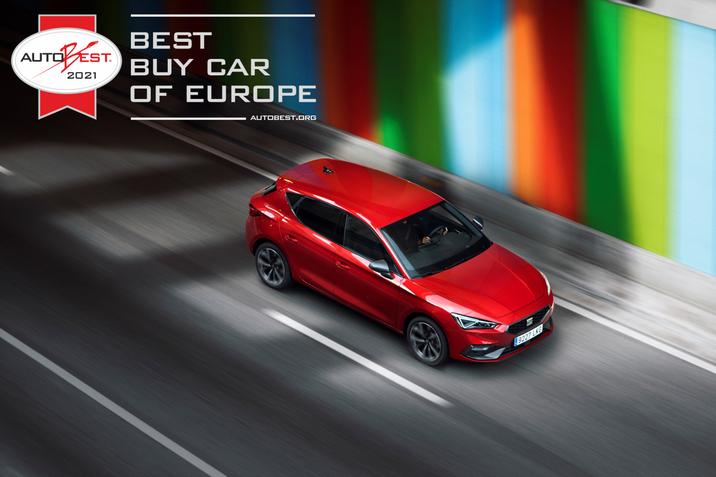 SEAT Leon nyeri az AUTOBEST 2021-et