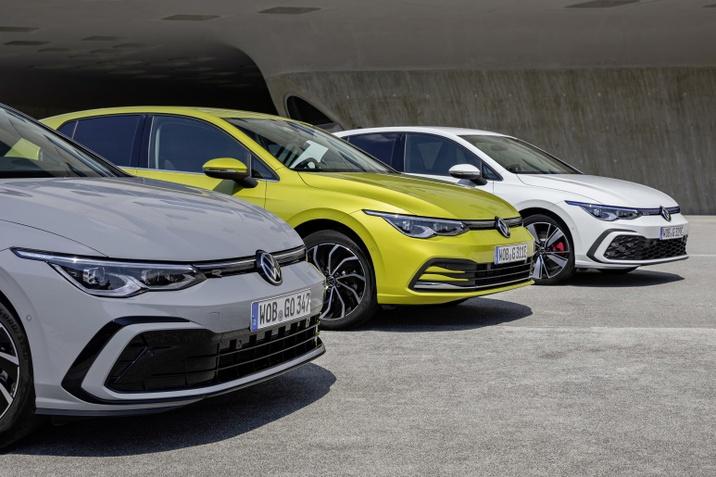 A Golf 2020-ban ismét a németek és az európaiak kedvenc autója