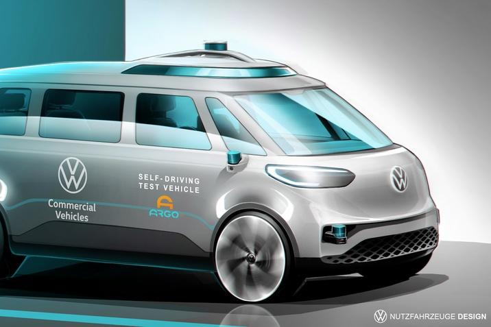 A Volkswagen Haszonjárművek előrelép az önvezető technológiák kutatás-fejlesztésben