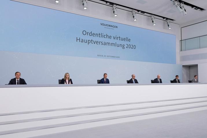 Volkswagen AG éves közgyűlés