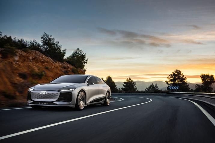 "Audi A6 e-tron concept – A következő ""e-volúció"""