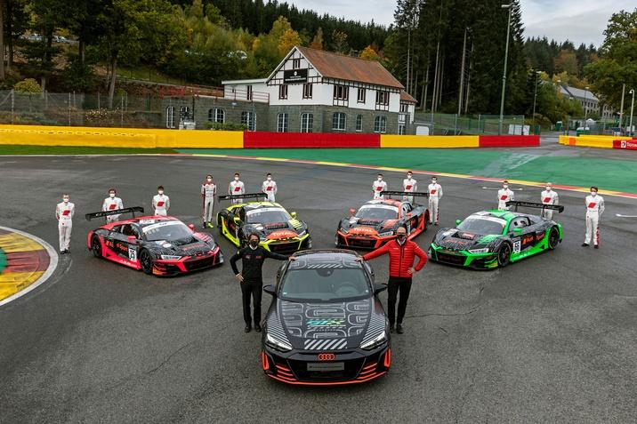 Audi R8 LMS és Audi RS e-tron GT