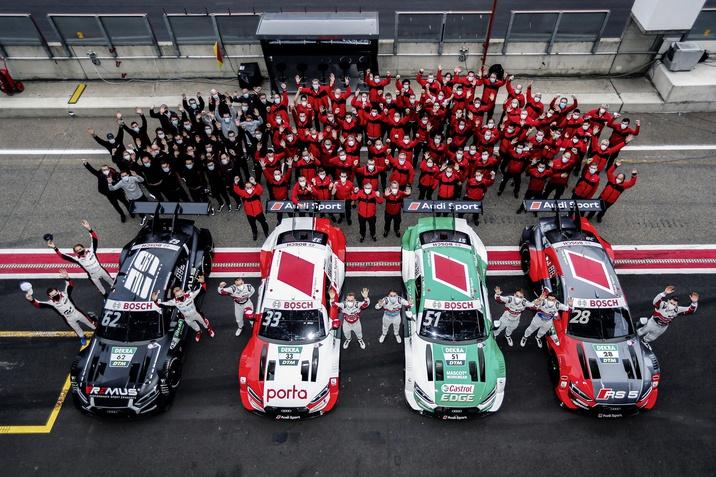 Búcsú az Audi RS 5 DTM-től
