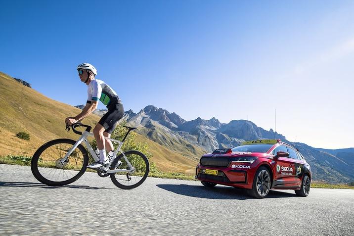 Elektromos autóval kísér a ŠKODA az idei Tour de Hongrie-n