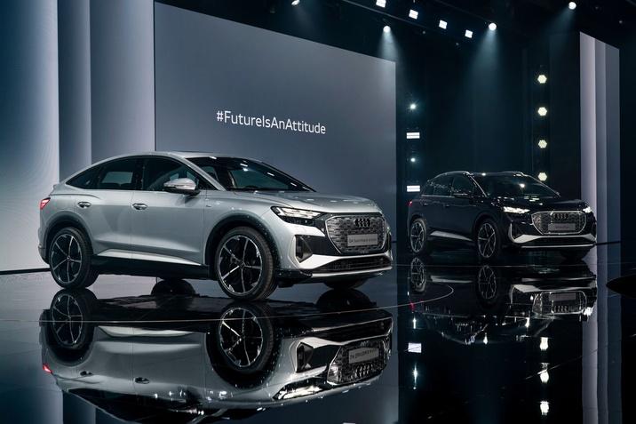 Elektromos, hatékony és magával ragadóan érzelemgazdag: az Audi Q4 e-tron és Q4 Sportback e-tron