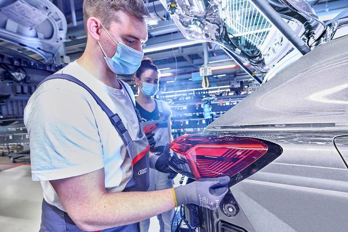 Megkezdődött az Audi Q4 e-tron gyártása