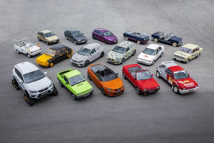 70 év és 16 különleges autó
