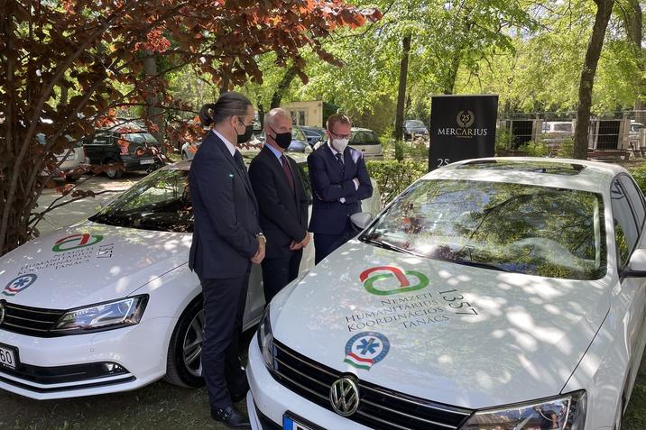 Tovább segítik a Volkswagenek a koronavírus elleni védekezést