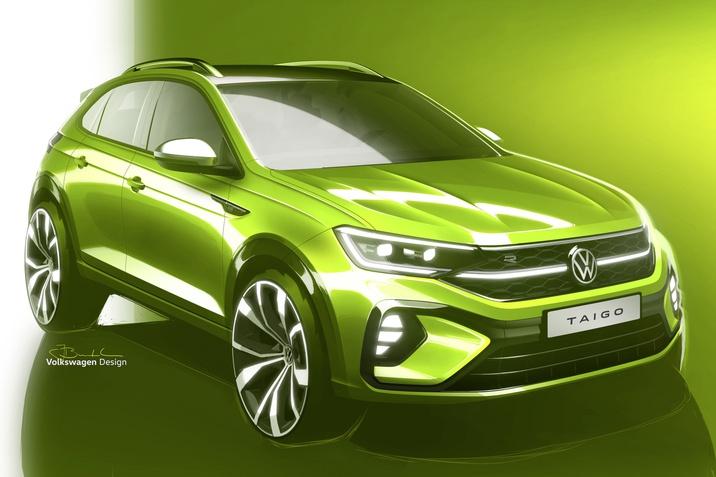 Új modell a Volkswagen márkánál: érkezik a Taigo!