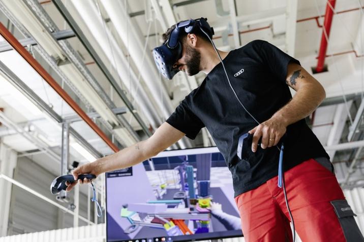 Az Audi e-tron GT digitális tervezésű gyártása