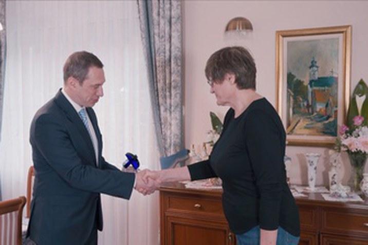 Volkswagen Kék Innovációs Különdíjat kapott Karikó Katalin